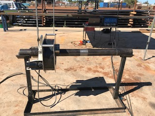 Drill pipe testing